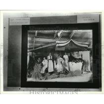 1914 Press Photo A group of musicians at the 1914 Spokane Interstate Fair