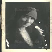 1930 Press Photo Florence Lamont Hinman, Music Editor