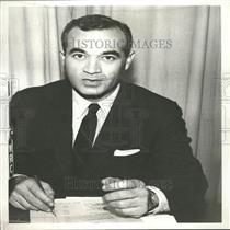 1959 Press Photo Journalist Martin Agronsky