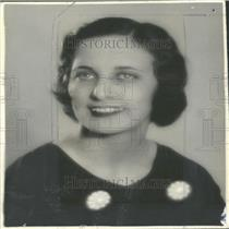 1933 Press Photo Ruth Bretschneider Central City Opera