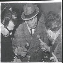 1961 Press Photo Hans Kroll Cologne Nikita Krushchev