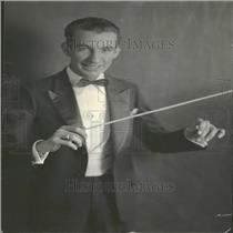 1932 Press Photo Buster Graves Conductor Musician