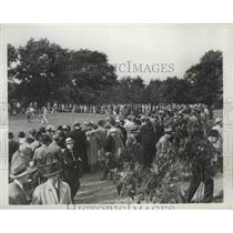 1937 Press Photo Gallery & San Snead at Western Open at Canterbury club