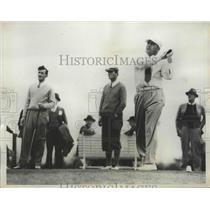 1935 Press Photo Felix Serafin at North & South Open at Pinehurst NC - nes53307
