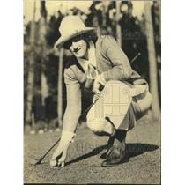 1925 Press Photo Louise Fordyce to play at finals of Pebble Beach Championship