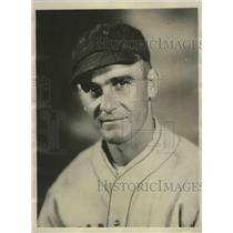 1929 Press Photo Joe Amadee pitches two no-hit, no-run games in succession