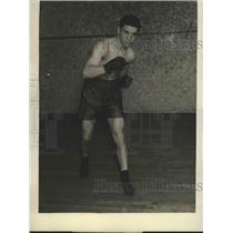 1929 Press Photo Sammy Mandell light training at Rockford - sbs00919