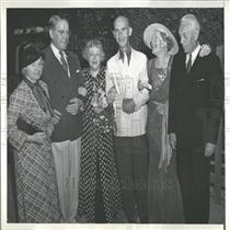 1936 Press Photo Actor Couple Gleason Celebrate Anniv