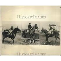 1932 Press Photo Stewards of the Hialeah Track - sbs01045