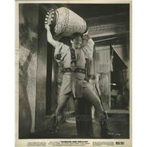 1949 Press Photo Samson and Deliah starring Victor Mature - lfx04925