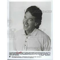 1963 Press Photo Tim Allen stars on Home Improvement on ABC - lfx05076