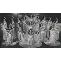 1940 Press Photo Denver Grand Opera company Aida Music