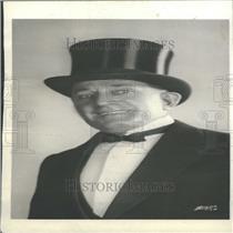 1929 Press Photo Broadway Performer Hitchcock Tuxedo