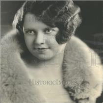 1931 Press Photo Radio Music Week Opera Wenona Black