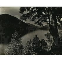 1930 Press Photo Sproat Lake, Vancouver Island, British Columbia, Canada