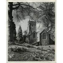 Press Photo Cockington, Devonshire Church, England - ftx01262