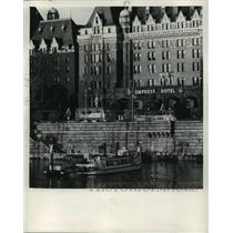 Press Photo Victoria, British Columbia, Empress Hotel - ftx01280