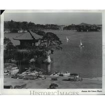 Press Photo Matsushima Bay, Japan - ftx01392