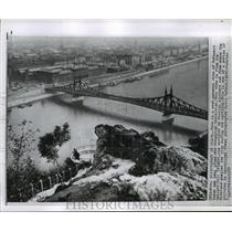 1957 Press Photo Budapest, Hungary after Revolution - ftx01414