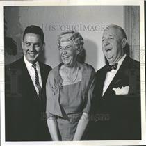 1959 Press Photo Joe Flood American Radio Broadcaster