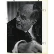 1981 Press Photo Sean McBride Nobel Piece Prize  - ora52527