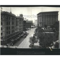 1916 Press Photo El Paso Business District