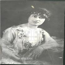 1917 Press Photo Annunziata Camila Maria Lucci Gould