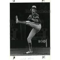 1979 Press Photo Dave Morris West Linn Baseball Pitcher Wilco League - ora61387
