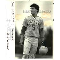 1986 Press Photo Derron Moreland - ora63224