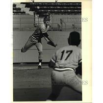 1984 Press Photo John McPherson baseball - ora63250