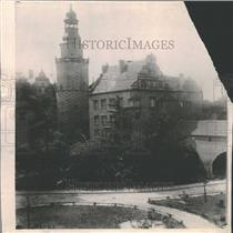 1919 Press Photo Castle of Prince Frederick Wilhelm.