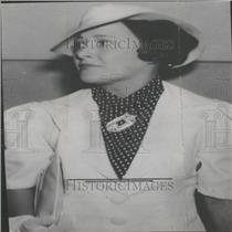 1936 Press Photo Mrs. Kathryn Edgar, Divorced