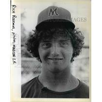 1978 Press Photo Rich Rosemus, a Sophomore at Madison High - ora74444