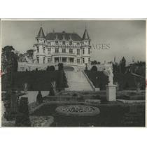 1931 Press Photo Architectural jewels Azure Coast Home
