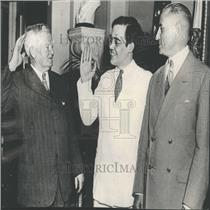 1935 Press Photo Vice President John Garner Rush Holt