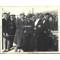 1934 Press Photo Martin Svdendson Lohr World's Fair