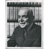 1948 Press Photo Closeup caption, Louis St. Laurent