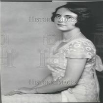1930 Press Photo Miss Caroline Hyde Washington Arthur