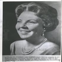 1962 Press Photo Crown Princess Beatrix Netherlands