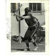1987 Press Photo Teena Shull All-Stater Forest Grove Softball Metro-State All-St