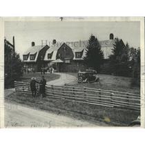 1933 Press Photo President Roosevelt Camp Cello Island