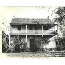 1936 Press Photo Mrs.Wallis Warfield Simpson Birthplace
