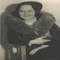1935 Press Photo Mrs. Mitchell Friedman