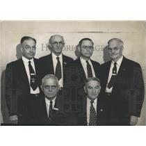 1937 Press Photo United States Pensioners Denver Meet