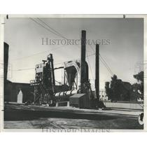 1947 Press Photo Mixing Plant Salt Lake City Utah