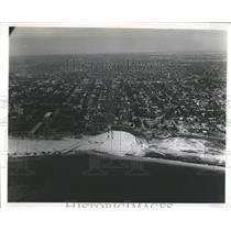 1956 Press Photo Aerial Of St Petersburg Florida Beache - RRY42729