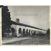 1929 Press Photo San Fernando restoration Cal mission