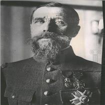 Press Photo General Gouraud Military Governor Paris