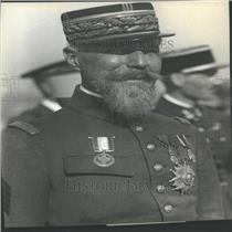 Press Photo Gen Henri Gouraud French Fourth Army Leader
