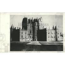 1930 Press Photo Glamis Castle Scotland